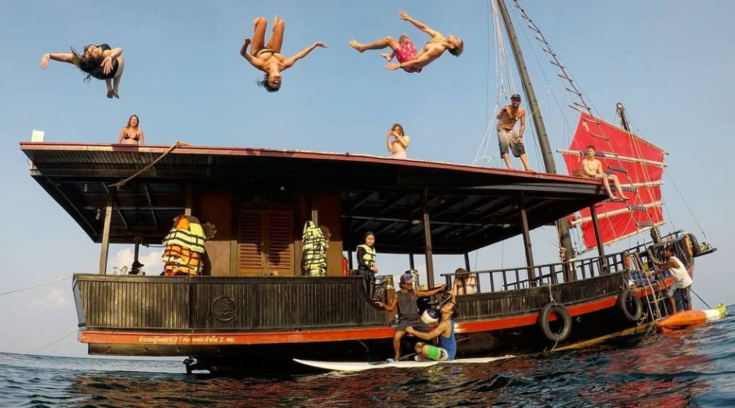 Thailand booze cruises - Krabi Sunset Cruises