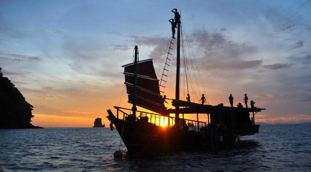 Krabi Sailing Tour, Thailand